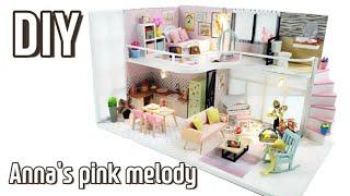 DIY Miniature Dollhouse kit|미니…