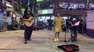 Brisia Jodie Ngamen di Kuala Lumpur