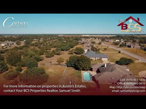 Austin's Estates Bryan Realtor Tour | Your BCS Properties