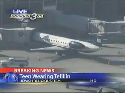 'Tefillin' Prompts Scare On Plane