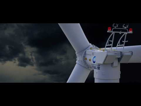 Ming Yang Smart Energy MySE3 Platform Wind Turbine