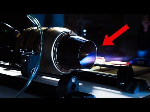 RC Jet Engine Tests
