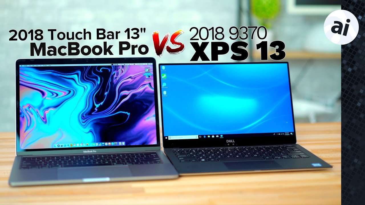 2018 13 Macbook Pro Vs 2018 Dell Xps 13 Full Comparison Youtube