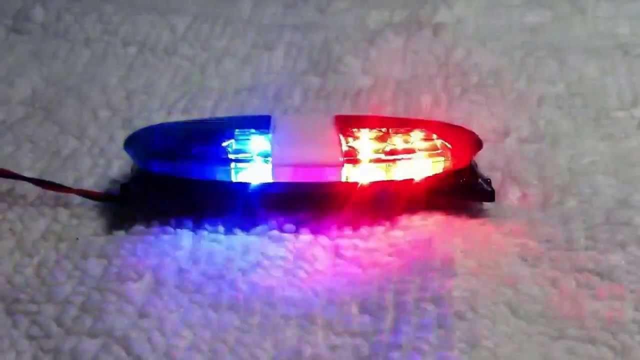 124 custom redblue arjent led light bar youtube aloadofball Image collections