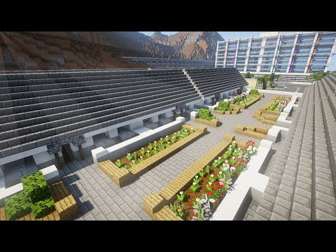 Minecraft: BEACH RESORT BUILD PART 3 TIMELAPSE: ACCOMMODATION