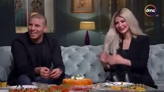 صاحبة السعادة - لقاء مع عمرو حميد صاحب محل بطارخ حميد مع النجم زيدان وزوجته