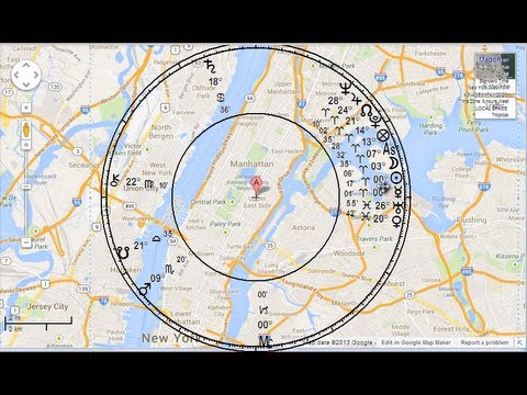 Astrology Tutorial: How to Place a Local Space Chart on a Google Map
