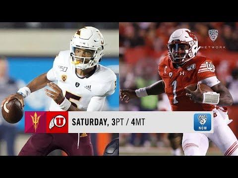Arizona State-Utah Football Game Preview