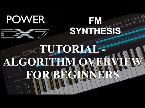 How To Learn Yamaha DX7 Synthesizer – Tutorial: Fundamentals of FM Synthesis, Algorithm