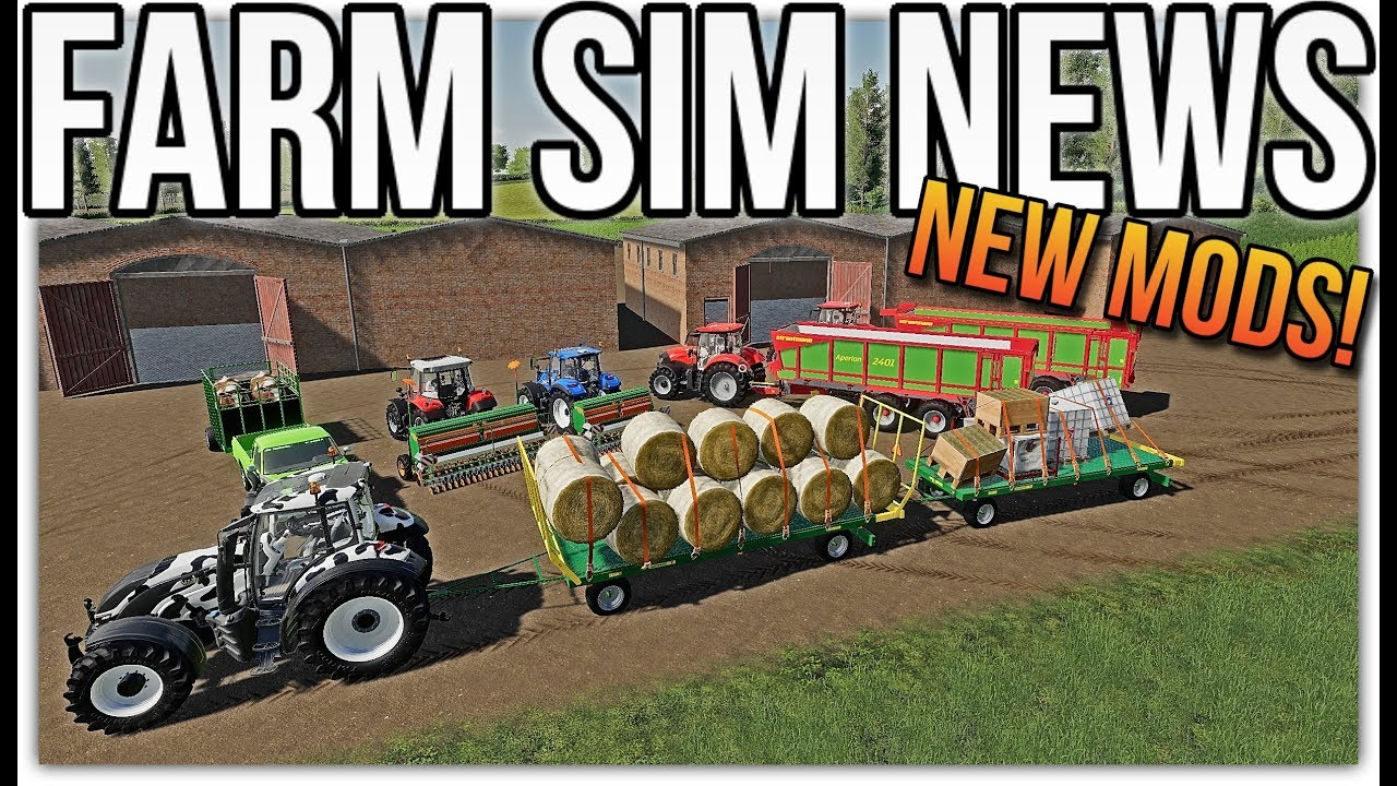 FARM SIM NEWS! | New Mods, Anderson DLC, & Mods In Testing!