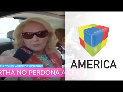 Mirtha no perdona a la ex Presidenta