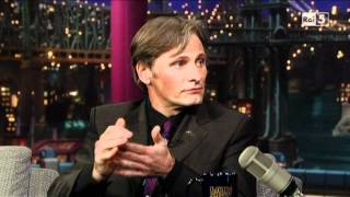Viggo Mortensen al David Letterman Show