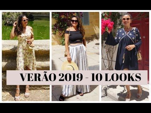 8049bfd87 TENDÊNCIAS VERÃO 2019 - 10 LOOKS PARA USAR JÁ!! - YouTube
