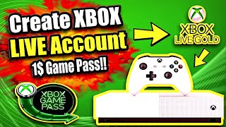 How to Create Xbox Live Account on the Xbox One (Best Method)