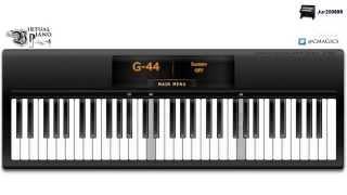Repeat youtube video David Guetta - Titanium - Virtual Piano