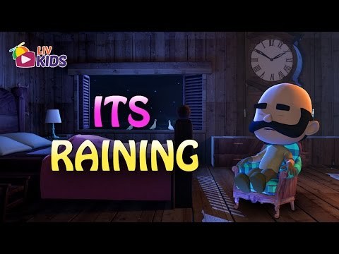 It's Raining It's Pouring with Lyrics | LIV Kids Nursery Rhymes and Songs | HD