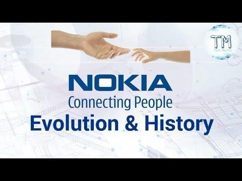Evolution of NOKIA Till 2017.