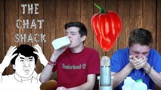 Scotch Bonnet Spicy Pepper Challenge