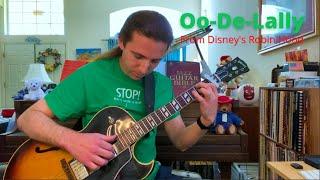 Oo-De-Lally (from Disney's Robin Hood) - guitar arrangement by Richard Greig