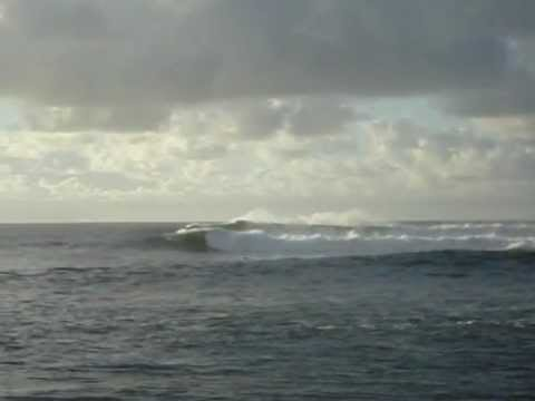 Surf rescue at Waimea Bay Hawaii