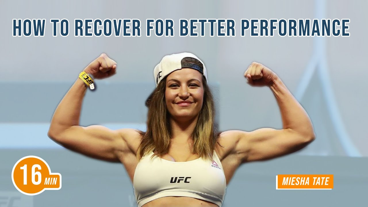 How to Recover for Better Performance with Miesha Tate | Jim Kwik