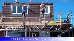 Loft Conversion Start to Finish Timelapse