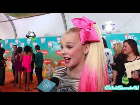 Jojo Siwa Interview | 2016 Kids' Choice Awards