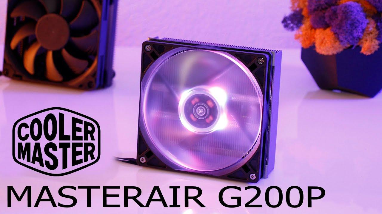 LowProfile cooler MASTERAIR G200P