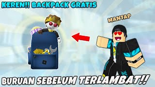 GRATIS!! TAS Keren WAJIB Kalian Dapatkan Dan Caranya Mudah Banget -  Metaverse Explorer's Backpack