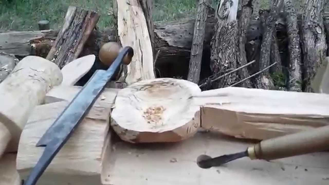 diy fabriquer un tabli bushcraft youtube. Black Bedroom Furniture Sets. Home Design Ideas