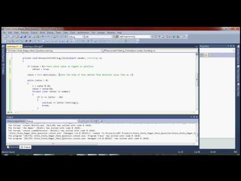 How to convert Integer value to string without library function in c#