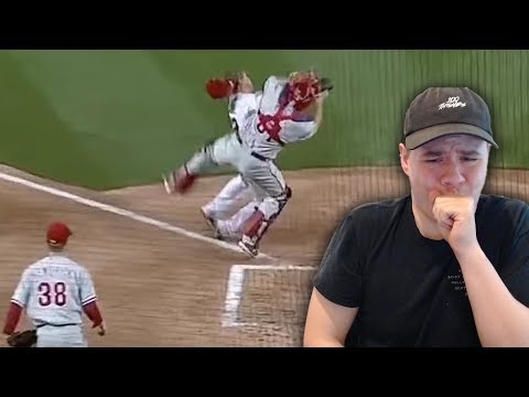 Reacting to Home Plate Collisions in the MLB!