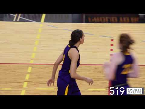 oua-women's-basketball---laurier-golden-hawks-vs-guelph-gryphons