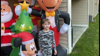 Ryan's 2020 Christmas Inflatables