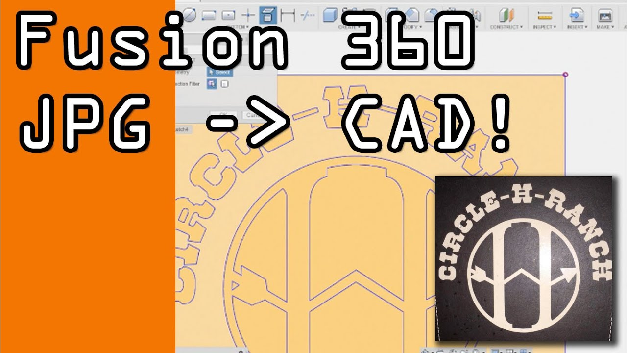 Fusion 360: Photo to 3D in CAD! - NYC CNC