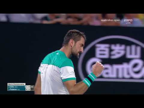 Australian Open 2018 Roger Federer - Marin Cilic