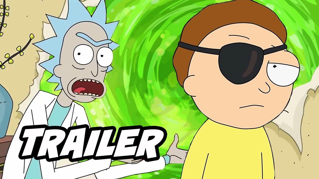 Rick And Morty Season 4 Super Bowl Trailer Breakdown And