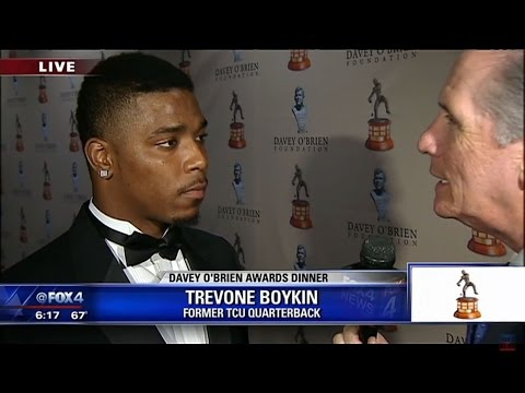 Trevone Boykin live with Mike Doocy