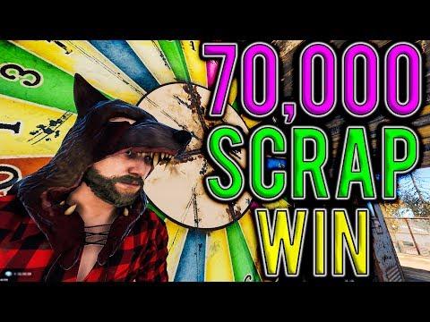 How I Won 70,000 SCRAP at the BANDIT CAMP! | Vanilla Rust