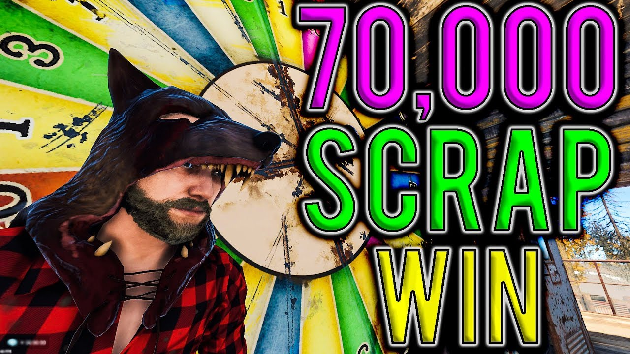 How I Won 70,000 SCRAP at the BANDIT CAMP! | Vanilla Rust