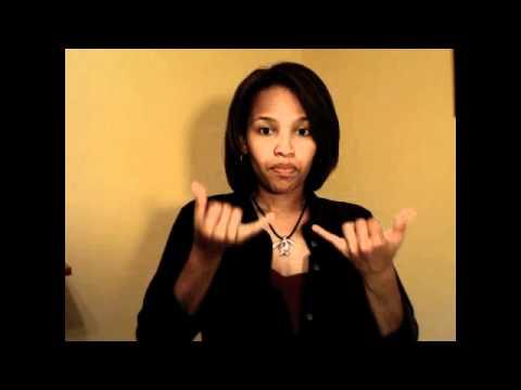 American Sign Language: Lesson 1