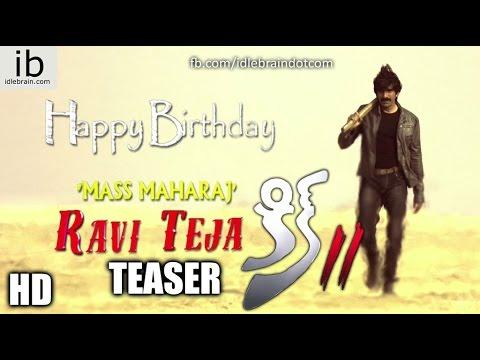 Ravi Teja Birthday teaser - Kick 2 - idlebrain.com