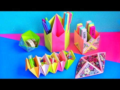 5 Diy Paper Crafts You Can Make In Quarantine At Home Youtube