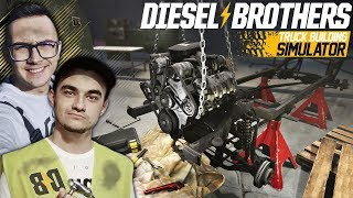 Składamy Silnik - NOWE życie dla Złomka ☠ Warsztat Braci Pierdollins! ✔ Diesel Brothers [#6]