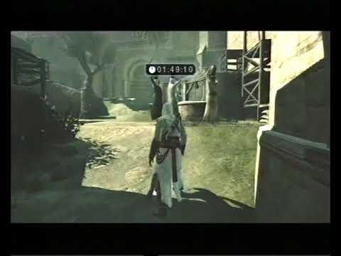 Assassin's Creed, Career 274, Jerusalem: Middle District, Informer Challenge, 1:10.35
