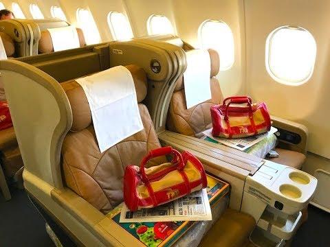 TAP Air Portugal | BUSINESS CLASS | A330-300 LIS-RIO | Retro JET