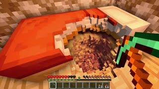 Minando Hacia Abajo en Minecraft con Físicas Reales