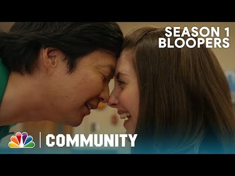 Season 1 Bloopers And Outtakes Part 1 - Community (Exclusive)