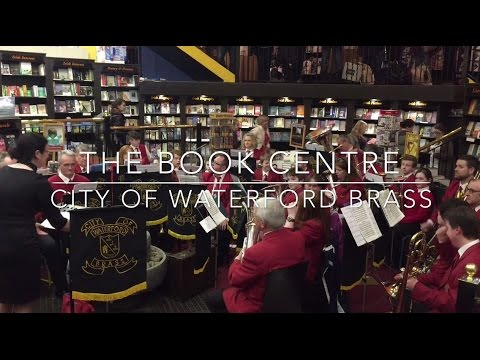 City of Waterford Brass perform in The Book Centre Waterford