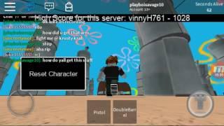 Se spongbob era como Call of Duty | Roblox